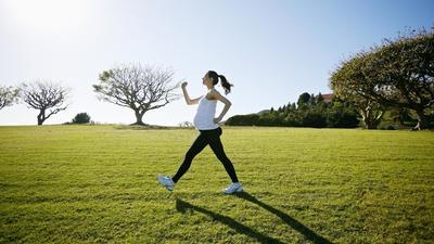 Berjalan dan Jogging