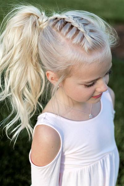 French Braid Ponytail