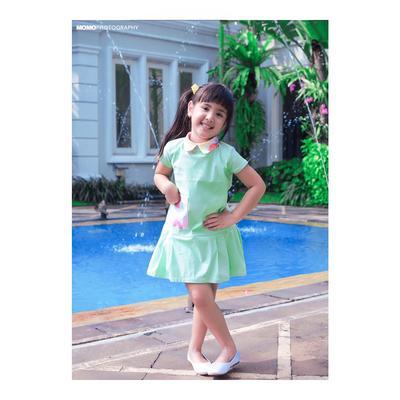 Baru 5 Tahun, Ini 5 Gaya Mikhayla, Anak Nia Ramadhani yang Fashionable dan Cantik Banget