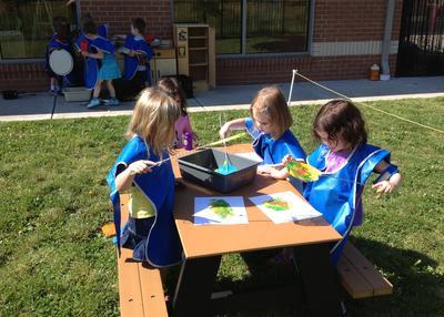 3) Tempat Belajar dan Bermain Indoor dan Outdoor