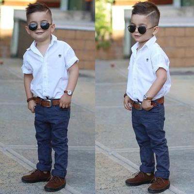 Agar Si Kecil Makin Ganteng! Contek Yuk, Mom 5 Gaya Rambut Anak Laki-laki Usia 3-5 Tahun