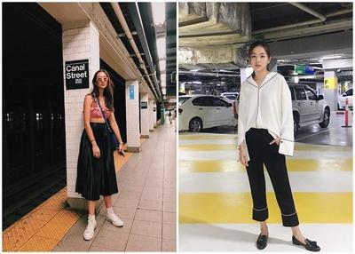 Keren Banget! Ini Gaya Fashion Artis Remaja Thailand yang Super Keren dan Stylish