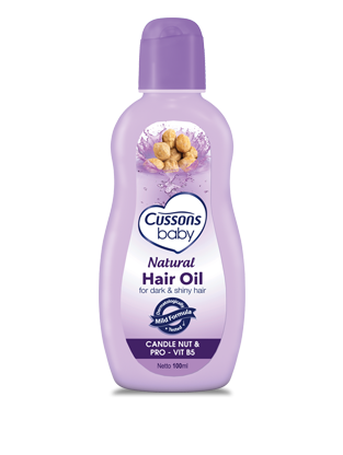 Review : Cussons Baby Hair Oil Natural