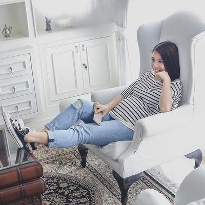 Tetap Stylish dan Cantik Saat Hamil? Ikutin Yuk Moms, Style Artis Indonesia Ini