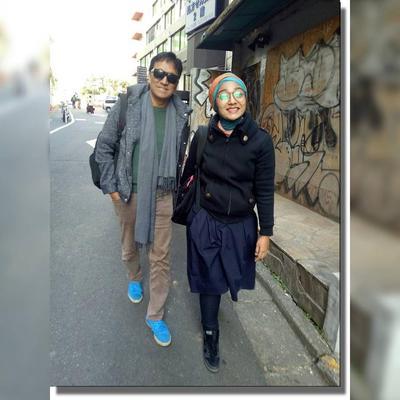 Ikang Fawzi dan Chikita Fawzi