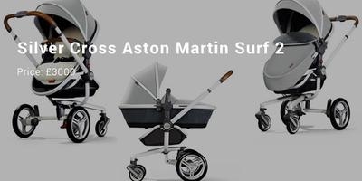 Silver Cross Aston Martin Surf 2