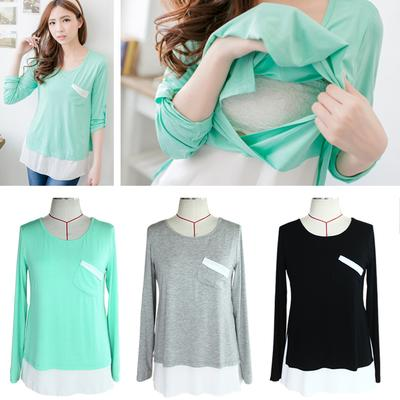 Nursing Top Long Sleeve