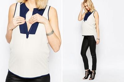 Nursing Top Sleeveless
