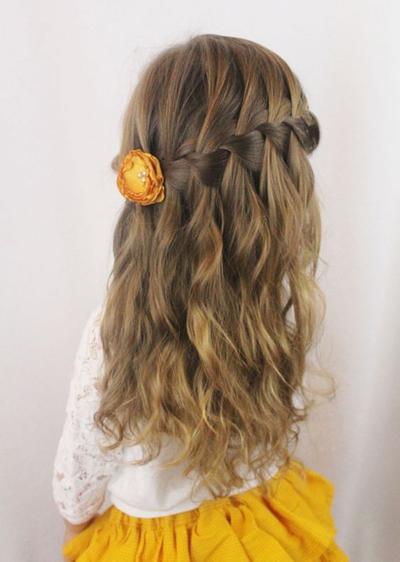 5. Wavy hair