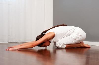 2. Child Pose (Balasana)