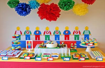 Meriahkan Ulang Tahun Anak Laki-Laki dengan Dekorasi Dessert Table yang Simpel dan Lucu Ini