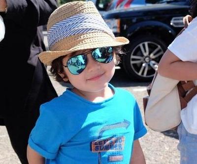 Tampil dengan Kacamata, Anak Artis Ini Makin Menggemaskan!
