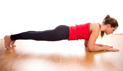 3. Plank Crawl