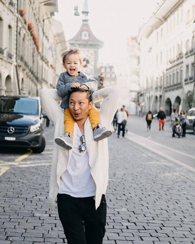 Sweet Banget! Ini Dia Inspirasi Foto Ayah Dan Anak Yang Ngegemesin Banget!