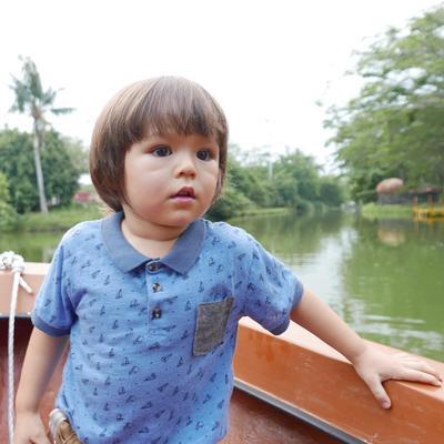 Calon Ganteng, Ini Deretan Fashion Keren El Barack Anak Jessica Iskandar