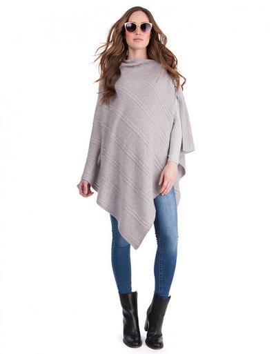 Knitted Maternity Shawl