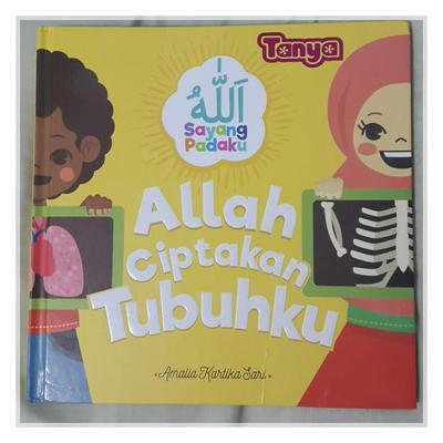 Review Buku Anak: Allah Ciptakan Tubuhku
