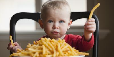 Jagalah Pola Makan Anak