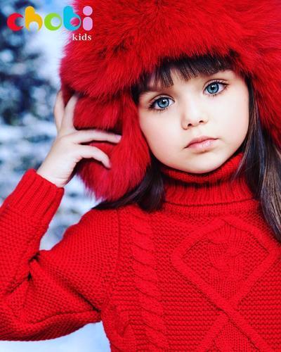 Punya Mata Indah, Anak Ini Viral dan Disebut Sebagai Anak Tercantik Di Dunia