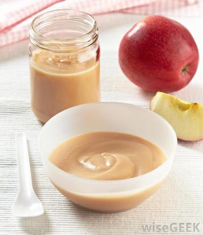 Puree Apel Kukus/Rebus