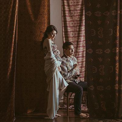 Cantiknya, Ini Dia Foto Maternity Shoot Donita Dengan Tema Indonesia