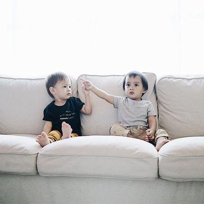 Persahabatan Dua Baby Hits Instagram, Bjorka dan Sekala