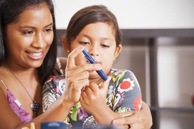Mengatasi Diabetes Pada Anak