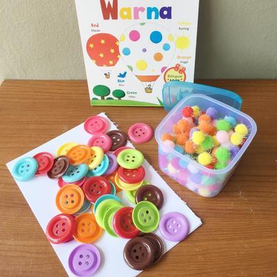 Tips Mudah Mengenalkan Warna pada Anak