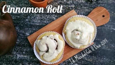 Resep Cinnamon Roll Super Lembut