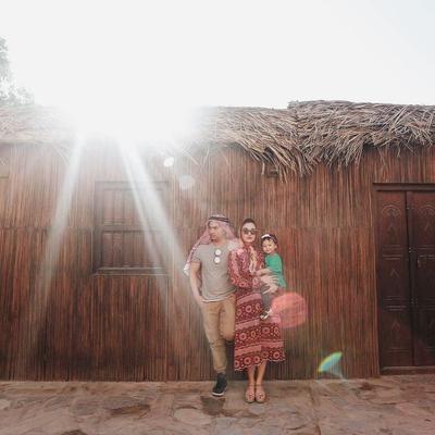 Serunya Liburan Pasangan Muda Chelsea Olivia dan Glenn Alinskie Di Dubai!