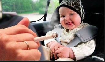 Papa, tolong jangan egois….. (STOP SMOKING DIDEPAN BAYI)
