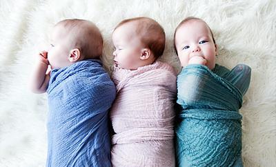 Nah, Ini Dia Inspirasi Nama Bayi Cantik Si Kembar Tiga Perempuan