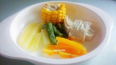5. Steamed Vegetables