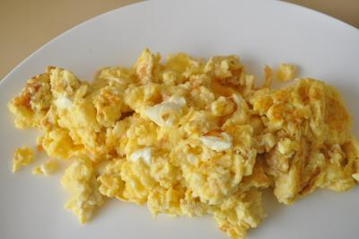 2) Cheese Scramble
