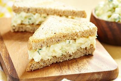 3) Egg Sandwich