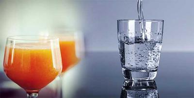 Mengkonsumsi Air Putih & Jus