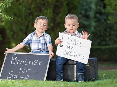 Jarak usia antara kakak dan adik
