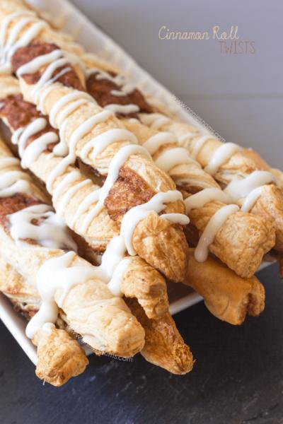 Cinnamon Roll Twists