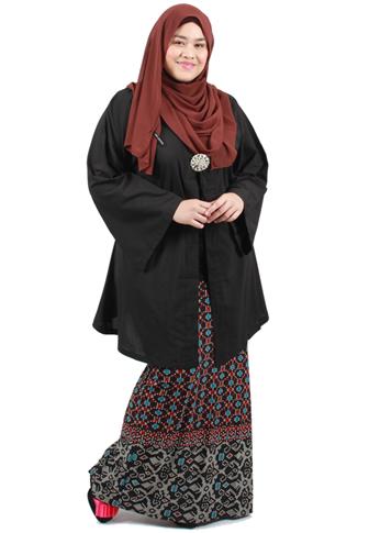 Inspirasi Style Kebaya Hijab Tubuh Gemuk