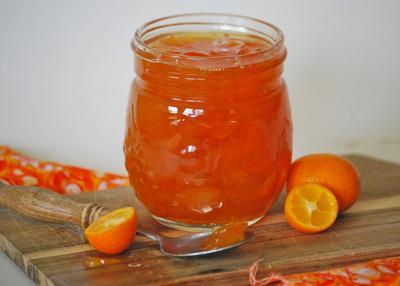 Homemade Orange Marmalade Jam