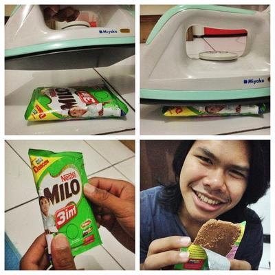 Unik, Ini Cara Mudah Membuat Sendiri Milo Cube, Snack Import yang Kekinian!