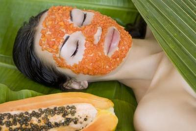 Masker Pepaya