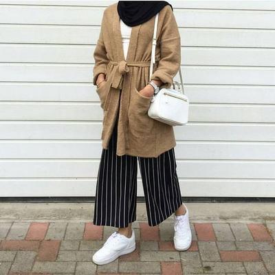 Inspirasi Mix And Match Celana Kulot Dan Hijab Untuk Gaya Yang Lebih