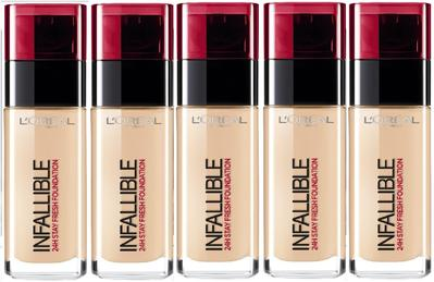4. L'Oreal Paris Infallible 24H Stay Fresh Foundation