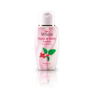6. Viva White Hand & Body Lotion with Mulberry