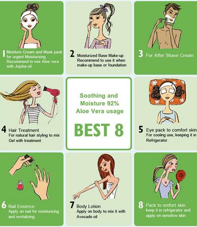 Ini 8 Cara Unik Penggunaan Nature Republic Aloe Vera Lainnya Selain Jadi Pelembap Wajah!