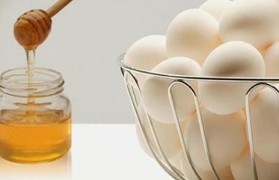 Putih telur dan madu