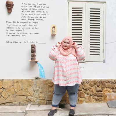 Tubuh Gemuk Bukan Halangan! Model Celana Ini Bisa Bikin Moms Hijabers Makin Stylish