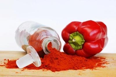 Rambut Merah dengan Paprika & Buah Bit