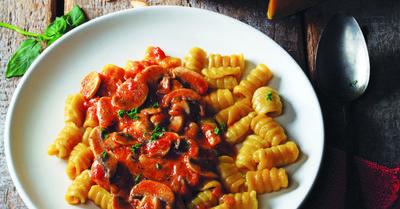 Wajib Coba! Resep Masakan Lezat Gnocchi Labu Parang Saus Jamur, Unik dan Nagih!